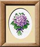 RIOLIS Violets Counted Cross Stitch Kit-5″x6.25″ 16 Count For Sale