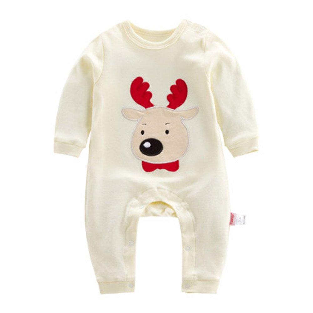 Baby Santa Claus Romper Sets - Newborn Unisex Girls Boys Christmas Cotton Sleepwear Costumes Infant Xams Outfits Sleepsuit 0-3 Months hibote Network technology Ltd