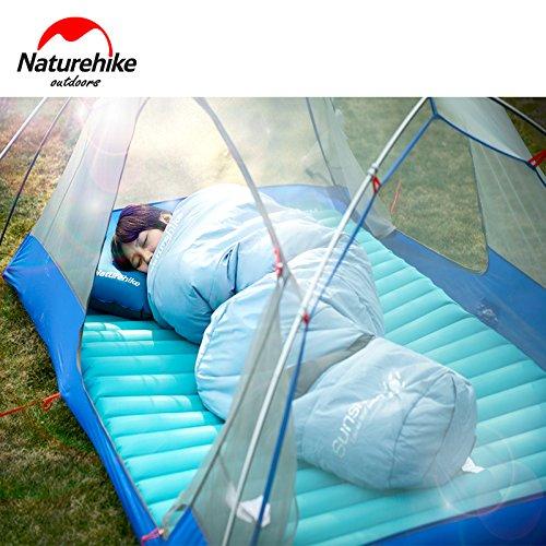 2-3 Personen Naturehike Utralight Outdoor Campingmatte TPU TPU TPU Portable Camping Wandern Zelt Bett Aufblasbare Luftmatratze 200x140x9.5 cm Große Größe NH17T120-C B07BLSNTQ9 Luftmatratzen Geschäft ebe565