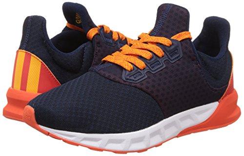 Adidas Falcon Elite 5 Xj, Chaussures de Tennis Mixte Enfant, Marron (Maruni/Sedoso/Energi), 39 EU