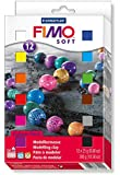 Fimo Soft Clay 10 Color Assortment 25 g blocks assorted colors box of 10