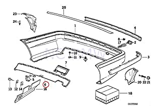 amazon bmw e36 trim panel rear bumper lower skirt spoiler Error Codes for 1996 BMW 318I share facebook twitter pinterest