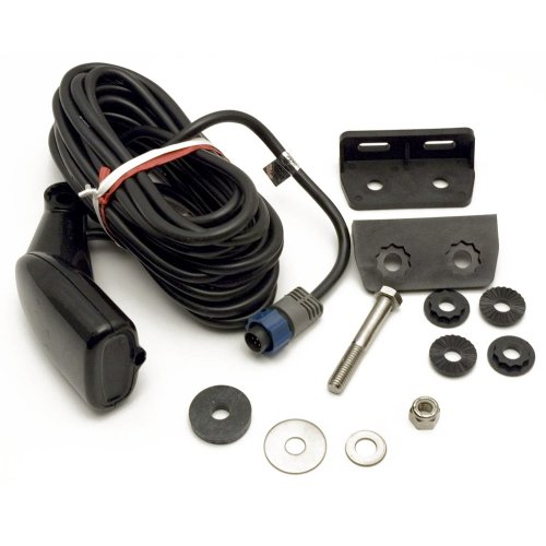 - Lowrance Dual Frequency Transom Mount Transducer