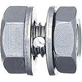ニッサチェイン ステンボルトクリップ ワイヤーロープ径0.85~1.0mm用 1個入 P-973