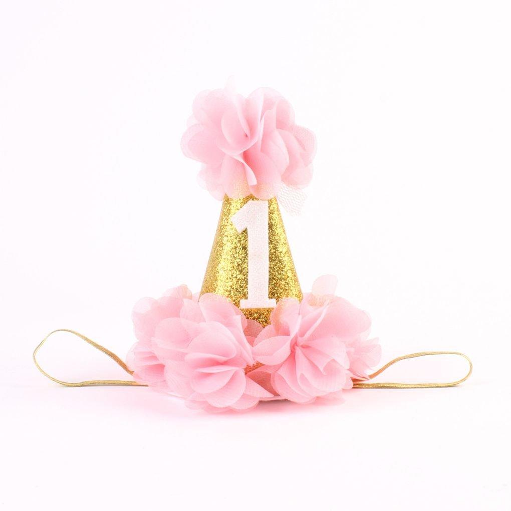 vkospy Gorro de Ducha 1r cumpleaños del Sombrero del bebé ...