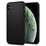 Spigen Liquid Air Armor Designed for Apple iPhone Xs Case (2018) / Designed for Apple iPhone X Case (2017) - Matte Black