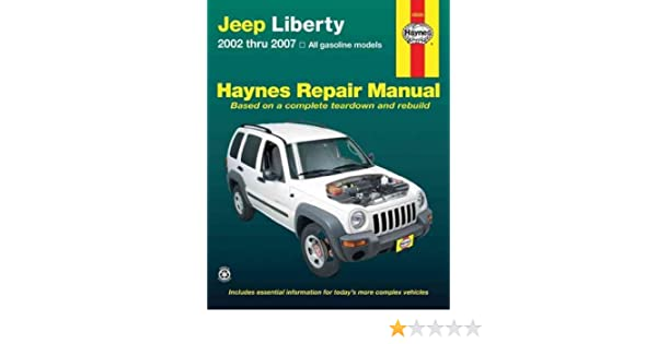 2007 jeep liberty shop manual