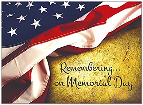 Amazon 25 memorial day cards american flag design 26 white 25 memorial day cards american flag design 26 white envelopes eco friendly m4hsunfo