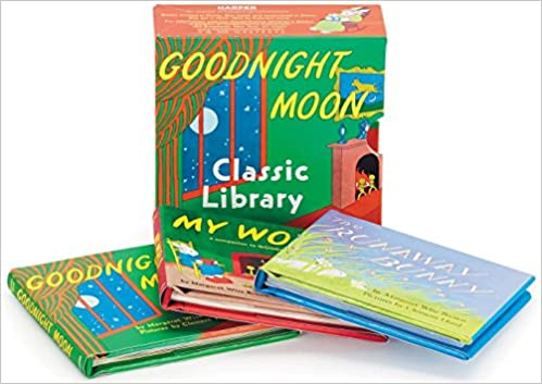 56ccd7557851 Goodnight Moon Classic Library: Contains Goodnight Moon, The Runaway Bunny,  and My World[Miniature Edition]: Margaret Wise Brown, Clement Hurd: ...