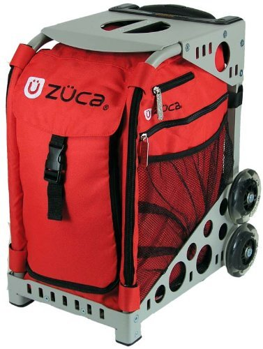 Zuca Bag Chili (Grey Frame) by ZUCA