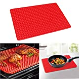 wall borders grapes - VIPASNAM-Barbecue Pan Non Stick Fat Reducing Silicone Cooking Mat Oven Baking Tray Sheets