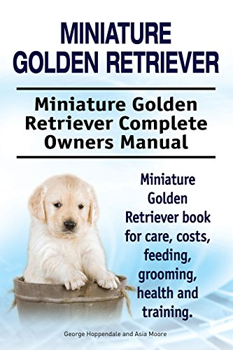 Miniature Golden Retriever Dog Miniature Golden Retriever Dog Book