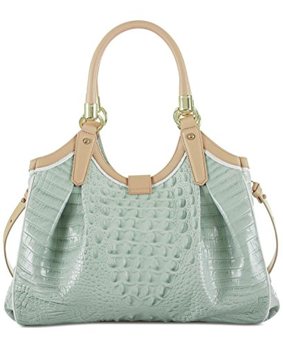Bag Brahmin Top Elisa Seaglass Handle zrxx5qtA
