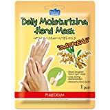 Purederm Máscara Hidratante para Mãos Aveia, Branco