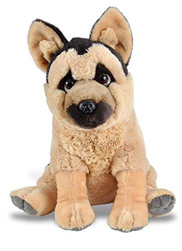Wild Republic, German Shepherd Plush, Stuffed Animal, Plush Toy, Gifts Kids, Pet Shop, 12 Inches