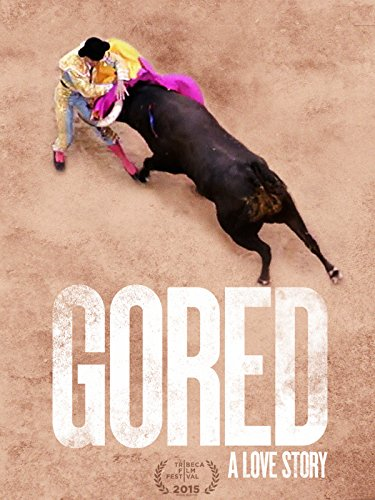 Gored by