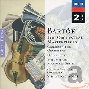 Bartok Orchestral Masterpieces