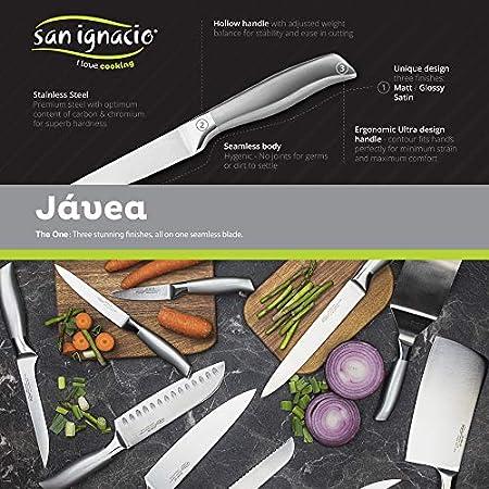 San Ignacio INOX Cuchillo jamonero 16 cm acero inoxidable Jávea, Multicolor
