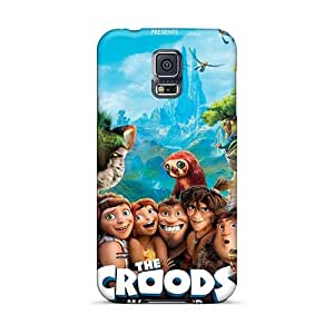 TimeaJoyce Samsung Galaxy S5 High Quality Cell-phone Hard Covers Provide Private Custom Fashion The Croods Image [zpf3245LttK]