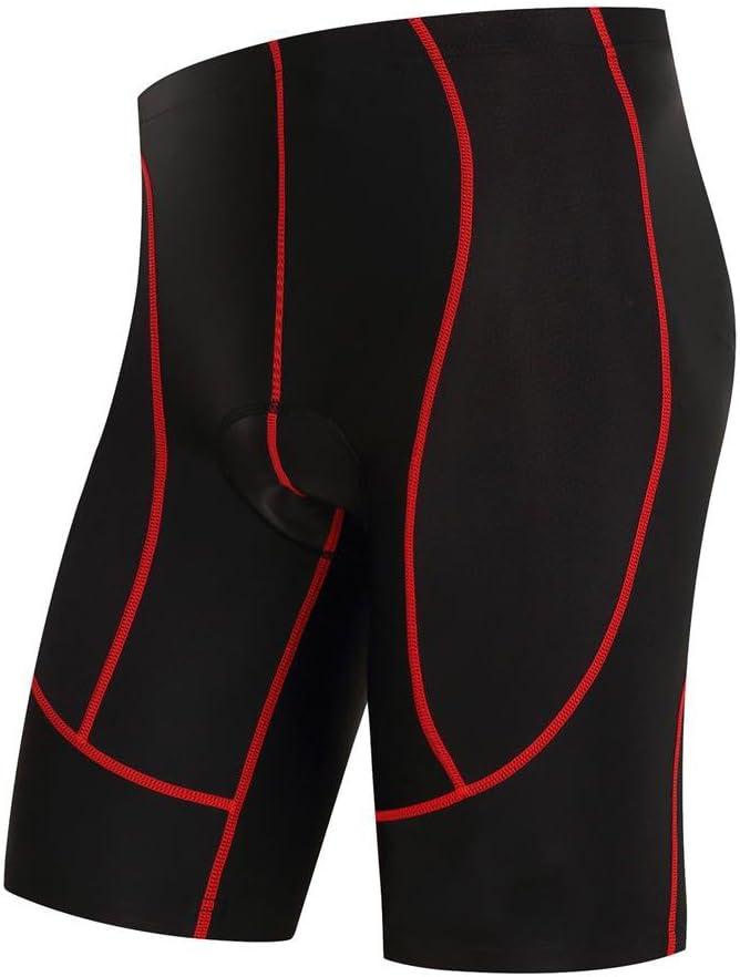 logas Pantaloncini Ciclismo Estivo Uomo Nero Pantaloncini MTB con 3D Gel Imbottito Abbigliamento Bici Traspirante Asciugatura Rapida