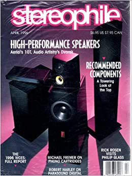 Stereophile Magazine, Volume 19, Number 4, April 1996