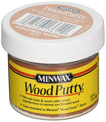 Minwax 13612000 Wood Putty, 3.75 Ounce, Colonial Maple (Maple Wood Putty)
