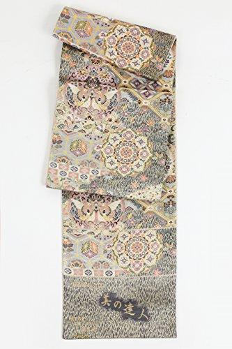 感嘆符ノベルティアマチュア正絹袋帯(美の達人)
