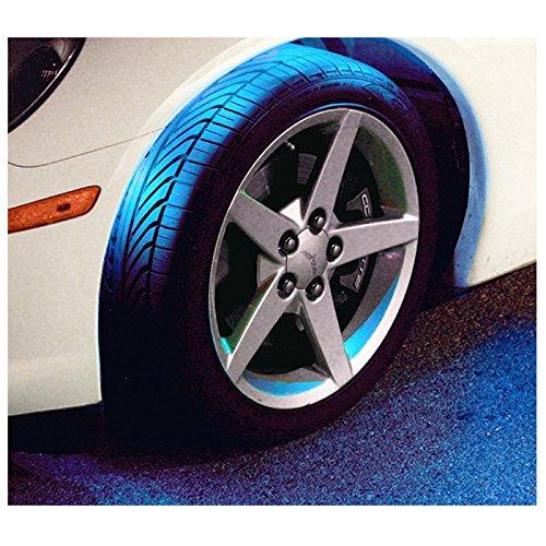 Canadian Tire Fluorescent Shop Light: Blue LED Wheel-Well Lighting Kit 4-Flexible LED Strips For