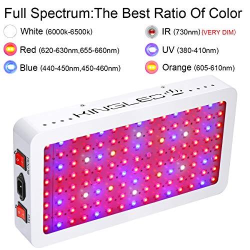 King LED Full Spectrum Grow Lights