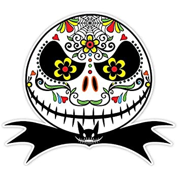 Amazoncom Jack Skellington  Car Decal  Sticker Automotive - Car decal stickers