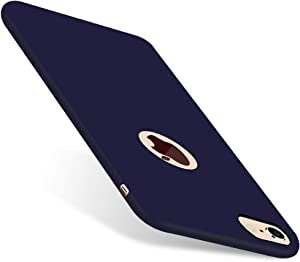 CellEver iPhone 6 / 6s Case, Liquid Guard Silicone Rubber Shockproof Case with Soft Microfiber Cloth Cushion for Apple iPhone 6 / 6S (H-Navy Blue)