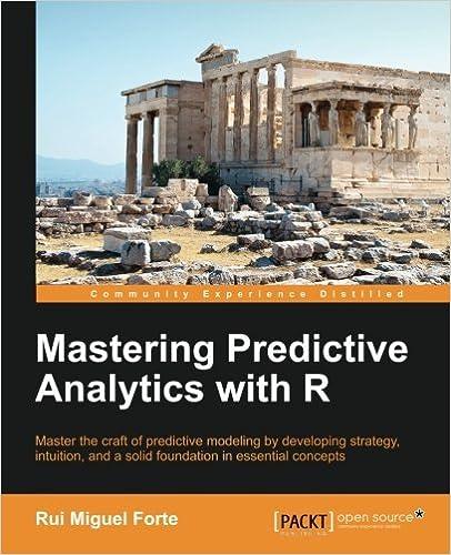 Book Mastering Predictive Analytics with R by Rui Miguel Forte (2015-06-30)