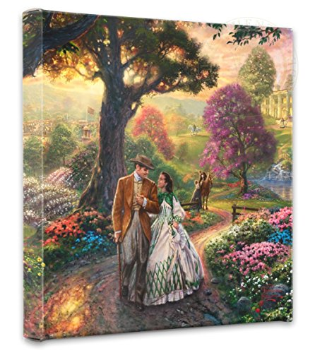 Thomas Kinkade  Gone With The Wind - Nature Wall Art