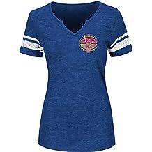 VF LSG NBA Women's Never Defeated Short Sleeve Notch Neck Tee