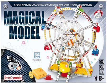 Review Ferris wheel Building model