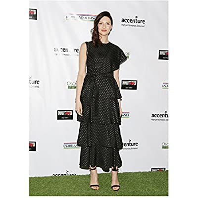 Caitriona Balfe 8 inch x10 inch PHOTOGRAPH Now You See Me Outlander Escape Plan Standing on Grass at Event Pose 4 kn