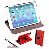 DURAGADGET 360° Rotating Red PU Leather Folding Folio Stand Case for Apple iPad Air (A1474 / A1475) (16GB, 32GB, 64GB & 128GB)