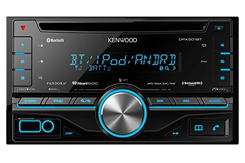 Kenwood DPX501BT 2-DIN CD Receiver with Built in Bluetooth