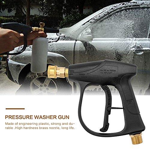 Houkiper High Pressure Washer Gun, 3000PSI Car Wash Water Gun - M22 metric thread by Houkiper