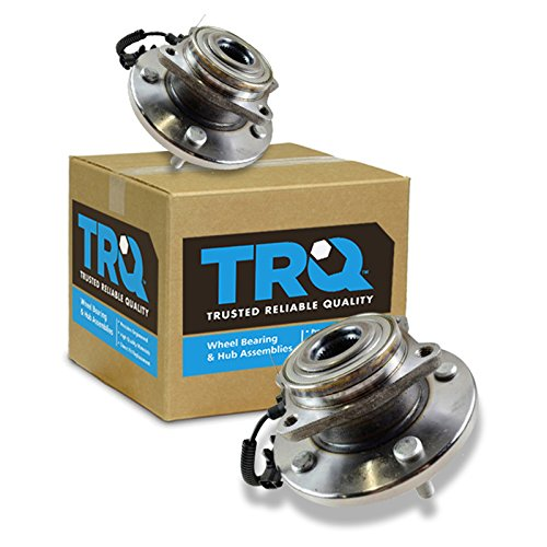 TRQ Front Wheel Hub & Bearing Pair Set for Town & Country Grand Caravan Routan
