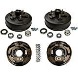 3,500 lbs. Trailer Axle Electric Brake Kit 6-5.5'' Bolt Circle