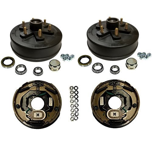 3,500 lbs. Trailer Axle Electric Brake Kit 6-5.5'' Bolt Circle by Southwest Wheel