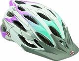 Bell Women's Luxe Bike Helmet, White Fishnet