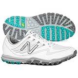 New Balance Women's Minimus Sport Golf Shoe, White, 8 B B US