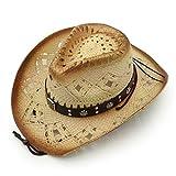 AccessHeadwear Old Stone Arizona Women's Cowboy Drifter Style Hat