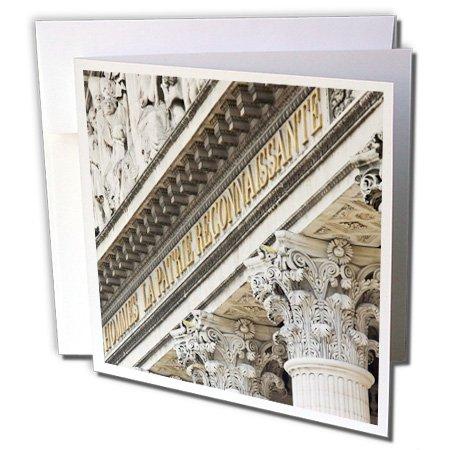 Danita Delimont - Paris - Pantheon in the 5th Arrondissement, Paris, France - EU09 WSU0039 - William Sutton - 12 Greeting Cards with envelopes (gc_137016_2)