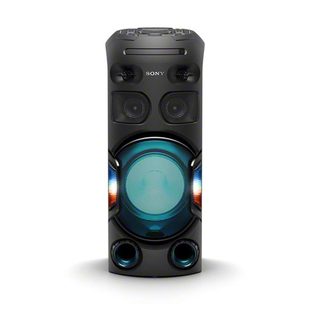Sony MHC-V42D, High Power Party Speaker. One Box Music System with Multi Colour Lighting Effects