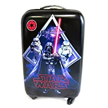 Abs trolley suitcase 'Star Wars' black blue (55 cm (0.00'') ).