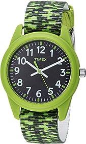 Timex Unisex Analog Nylon Strap (Little Kids/Big Kids)