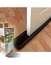 RYchzh Under Door Draft Stoppers for Exterior/Interior Doors Soundproof Door Bottom Weather Stripping Double Sided-No Cold-Foam/Vin